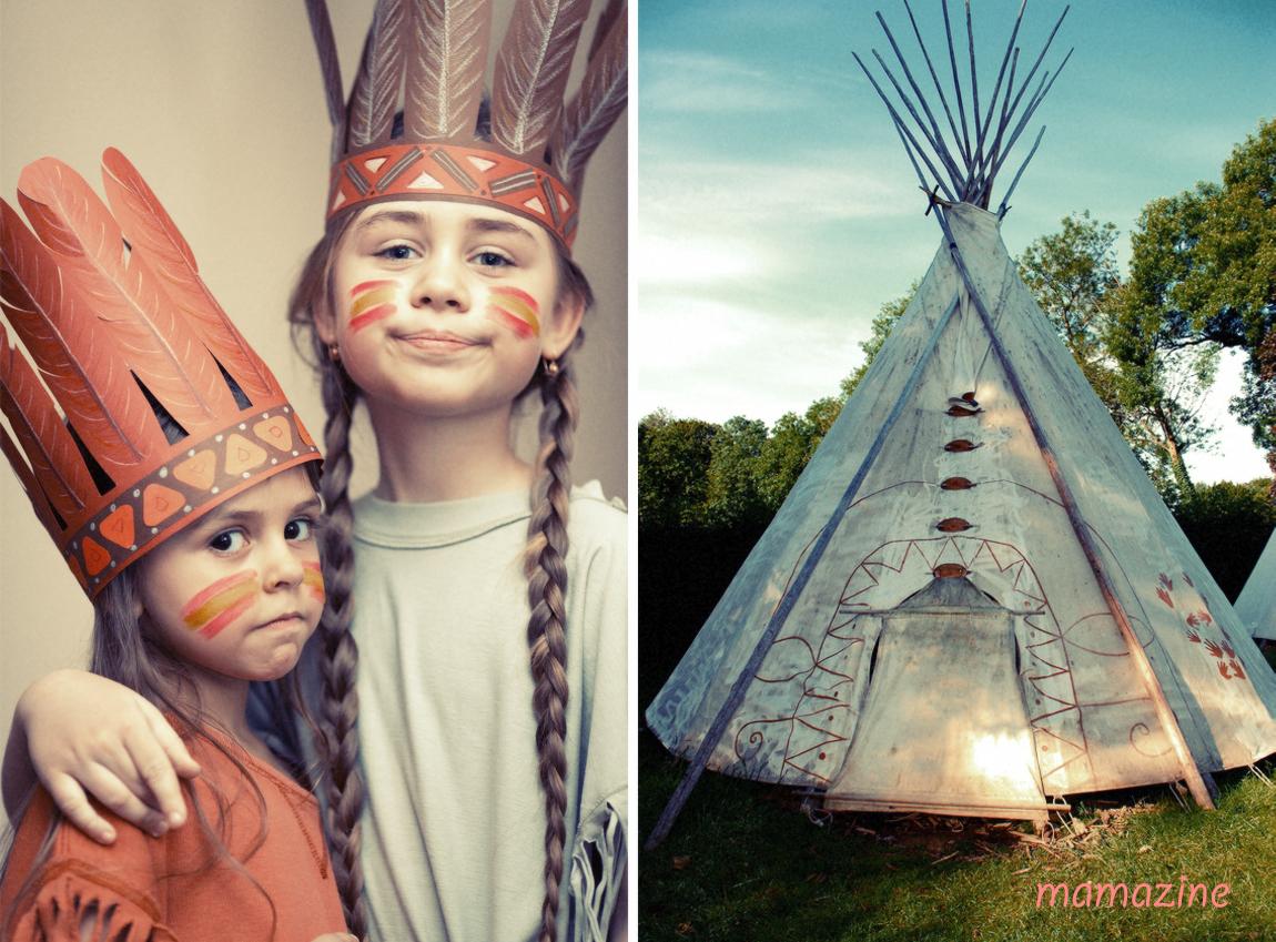 herbstausflug mit kindern indianer f r einen tag mamazine. Black Bedroom Furniture Sets. Home Design Ideas