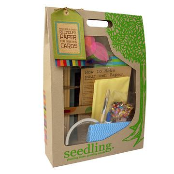 papierschöpfen seedling