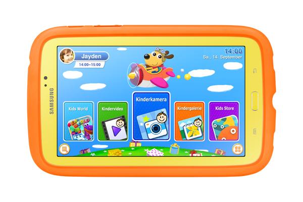 Samsung GALAXY Tab 3 Kids_Produktshot