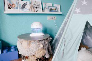 Heuschnupfen im Kinderzimmer? Hyla sorgt für saubere Luft!